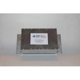 Filtre Passe-Bas 430 à 440 MHz à 11 cellules