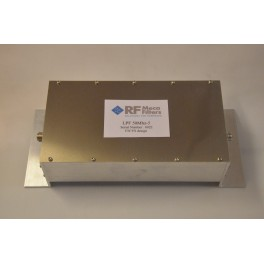Filtre Passe-bas 50 à 51 Mhz à 7 cellules
